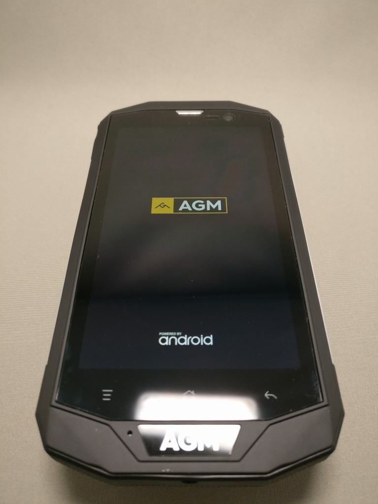 AGM A8 起動 AGM アイコン