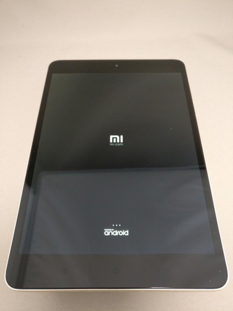 Xiaomi Mi Pad 3 起動 2