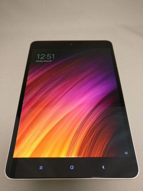 Xiaomi Mi Pad 3  起動 3