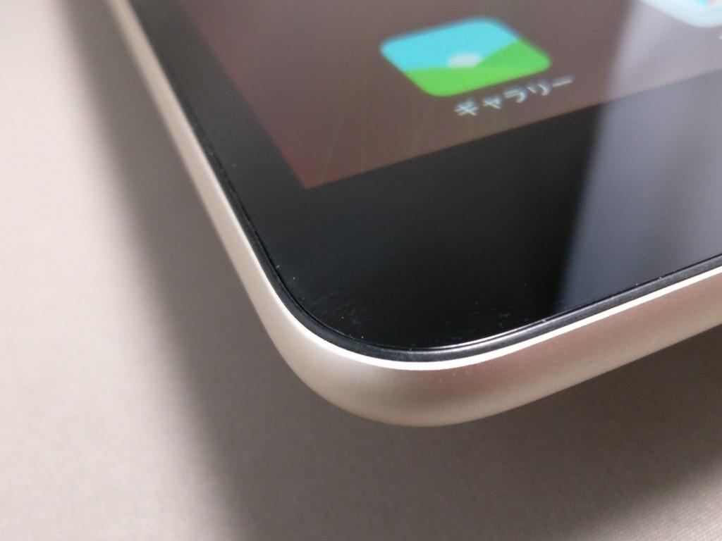 Xiaomi Mi Pad 3 ズーム 左 プラパッキン