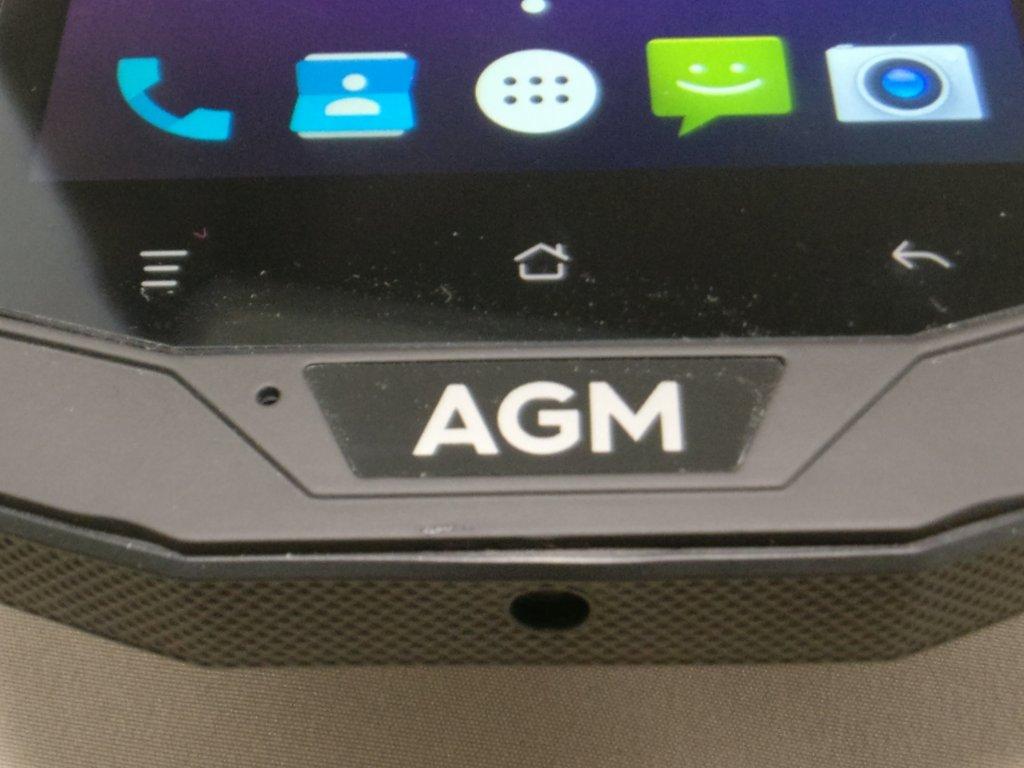 AGM A8  表面下 AGMのマーク
