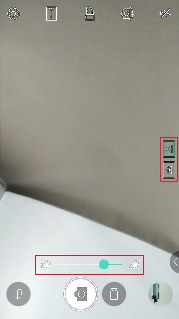 LG V20 Pro カメラ 自撮り 単独