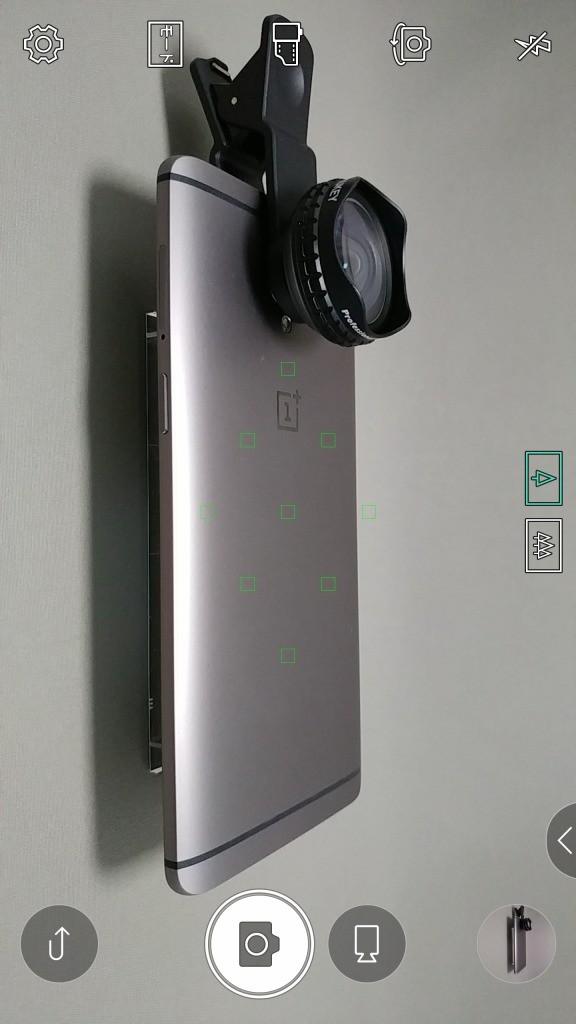 LG V20 Pro カLG V20 Pro カメラ フォーカスエリアメラ タップでピント合わせ