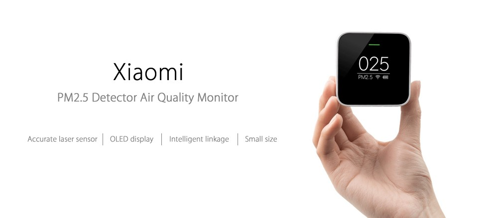 Xiaomi PM2.5 AQI測定器 Spec