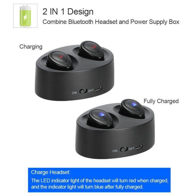 完全分離ワイヤレスイヤホンdocooler K2 TWS デザイン