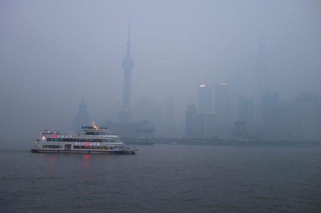 上海のスモッグ3