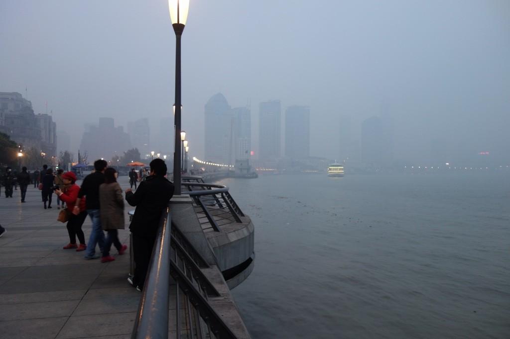 上海のスモッグ