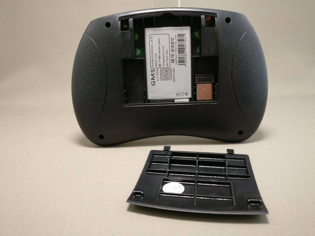 iPazzPort Mini Keyboard 裏フタ