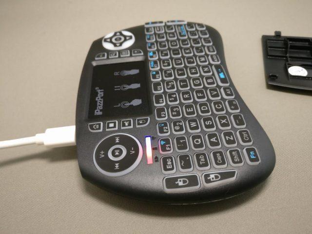 iPazzPort Mini Keyboard 充電