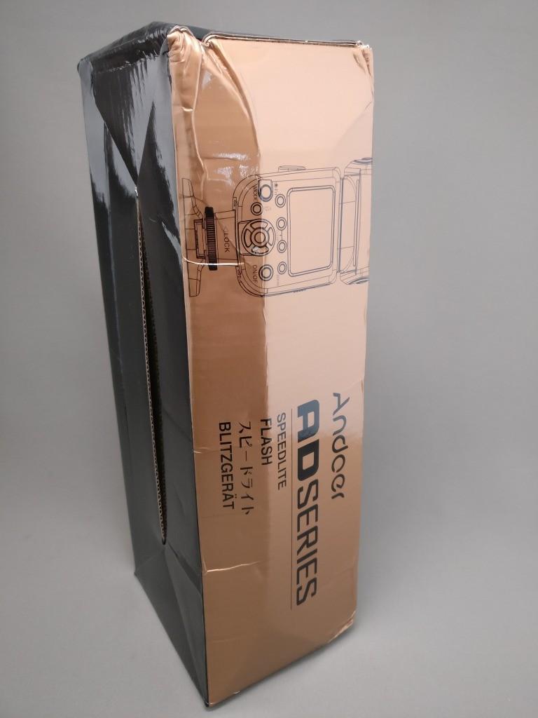 Andoer AD-560Ⅱ 汎用 スピードライト 化粧箱 左