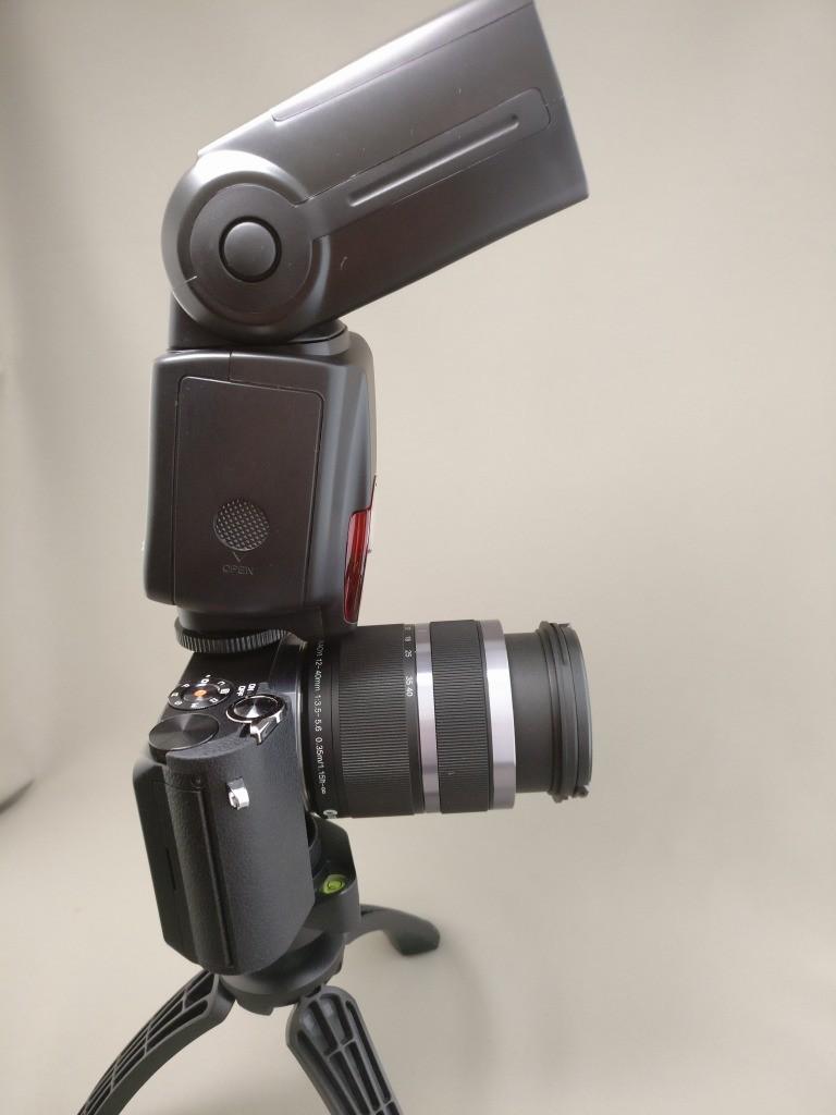 Andoer AD-560ⅡをXiaomi YI M1に装着3
