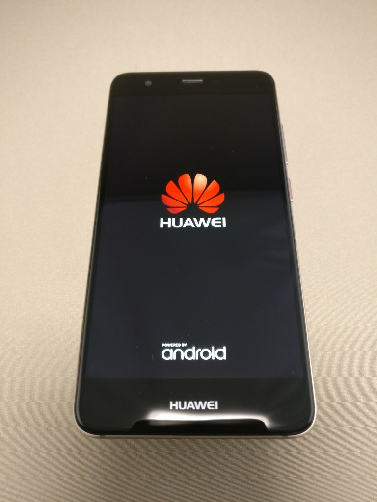 Huawei Nova 起動