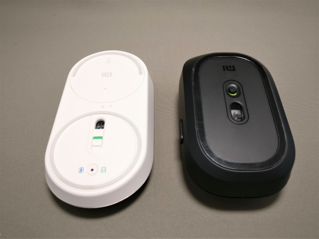 XIAOMI 1200DPI 2.4GHz 4 Buttons Wireless Optical Mouse For PC Laptop 他マウスと比較 Xiaomi Bluetooth4.0+2.4Gワイヤレス デュアル マウス 裏面