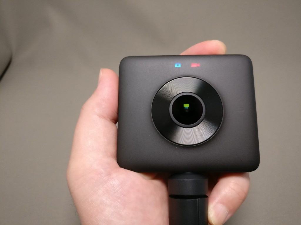 Xiaomi mijia 3.5K Panorama Action Camera エラー?
