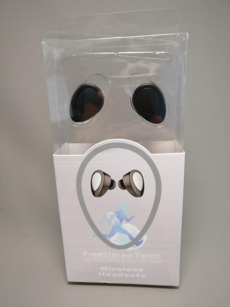完全分離ワイヤレスイヤホンdocooler K2 TWS 化粧箱 表