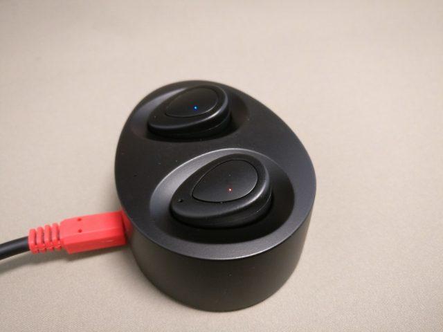 完全分離ワイヤレスイヤホンdocooler K2 TWS 充電台 充電
