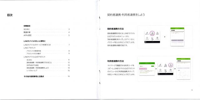 LINE MOBILE 取説4