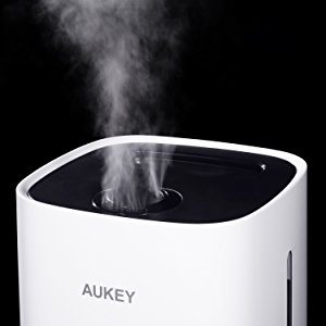 AUKEY 加湿器 超音波クールミスト加湿器 水蒸気