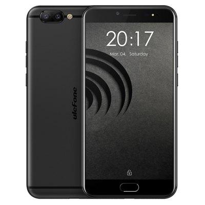 gearbest Ulefone Gemini Pro MTK6797X Helio X27 2.6GHz 10コア BLACK(ブラック)