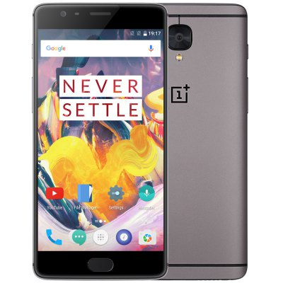 gearbest OnePlus 3T Snapdragon 821 GRAY(グレイ)