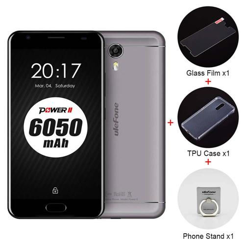 geekbuying Ulefone Power 2 MTK6750T 1.5GHz 8コア GRAY(グレイ)