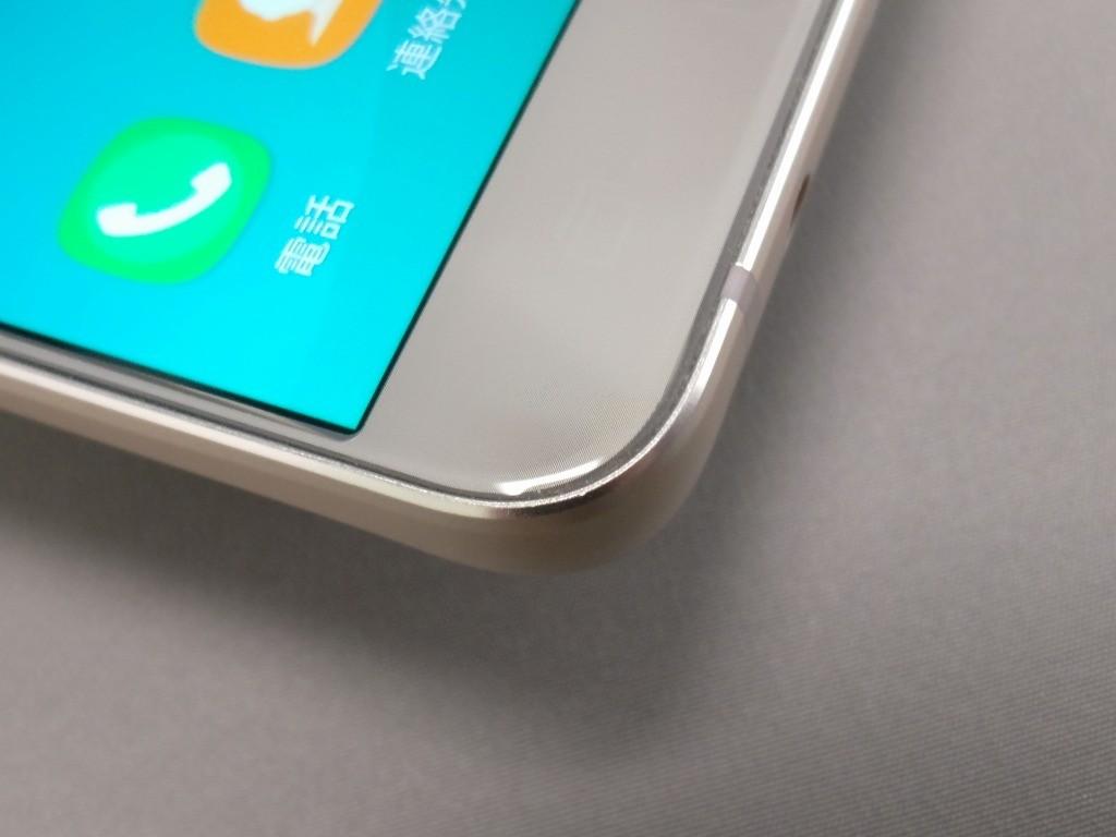Galaxy Note 5 表面 エッジ