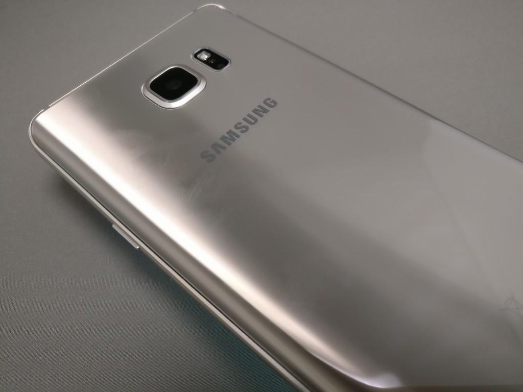 Galaxy Note 5 指紋がつきやすい
