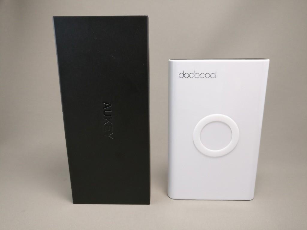dodocool Qi 他のモバイルバッテリーと比較