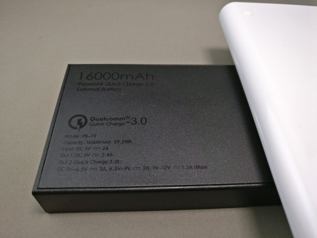 dodocool Qi 他のモバイルバッテリーと比較 Aukey 16000mAh