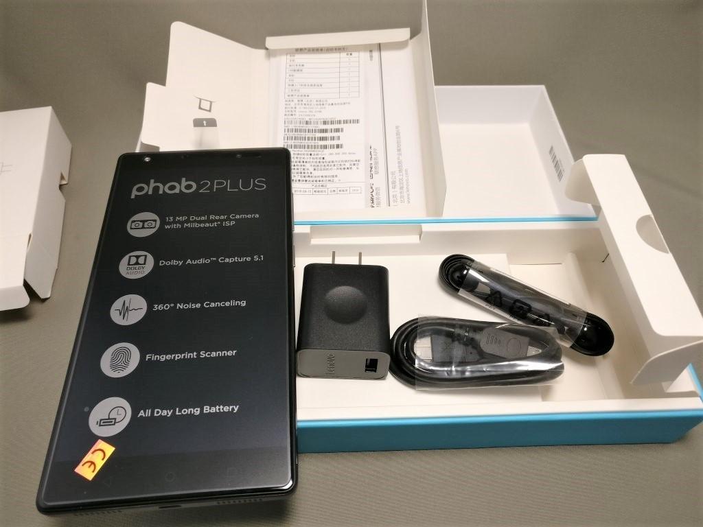 LENOVO Phab 2 Plus 付属品 セット