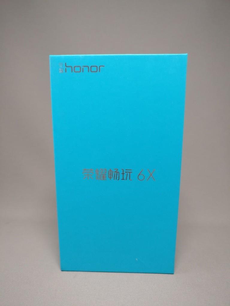 Huawei Honor 6X 化粧箱 表