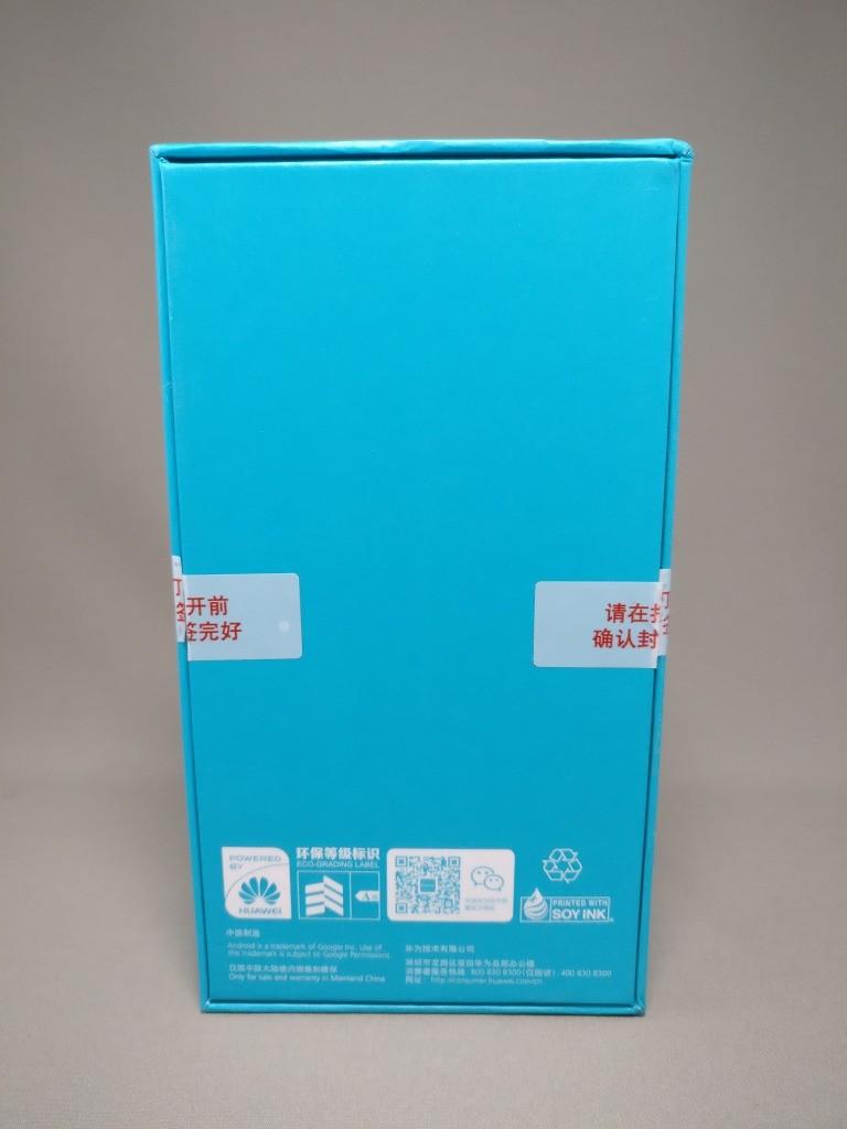 Huawei Honor 6X 化粧箱 裏
