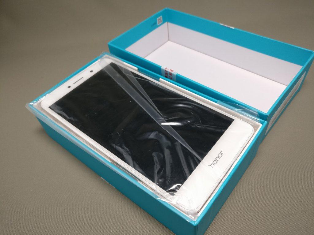 Huawei Honor 6X 開封