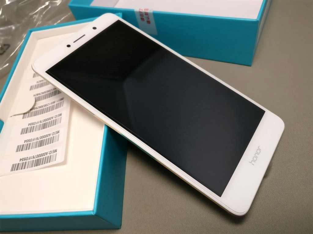 Huawei Honor 6X 開封 表