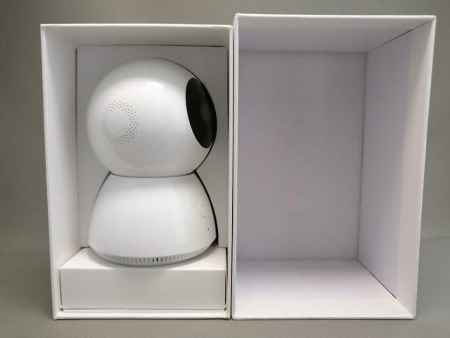Xiaomi 360度パノラマ1080P IPカメラ 化粧箱 開封