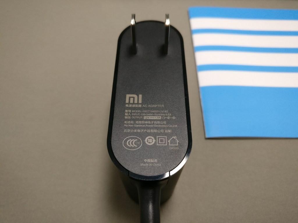 Xiaomi Mi R3P Wifiルーター Pro 電源アダプタ