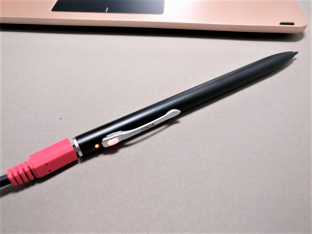 VOYO Vbook V2 スタイラスペン 充電