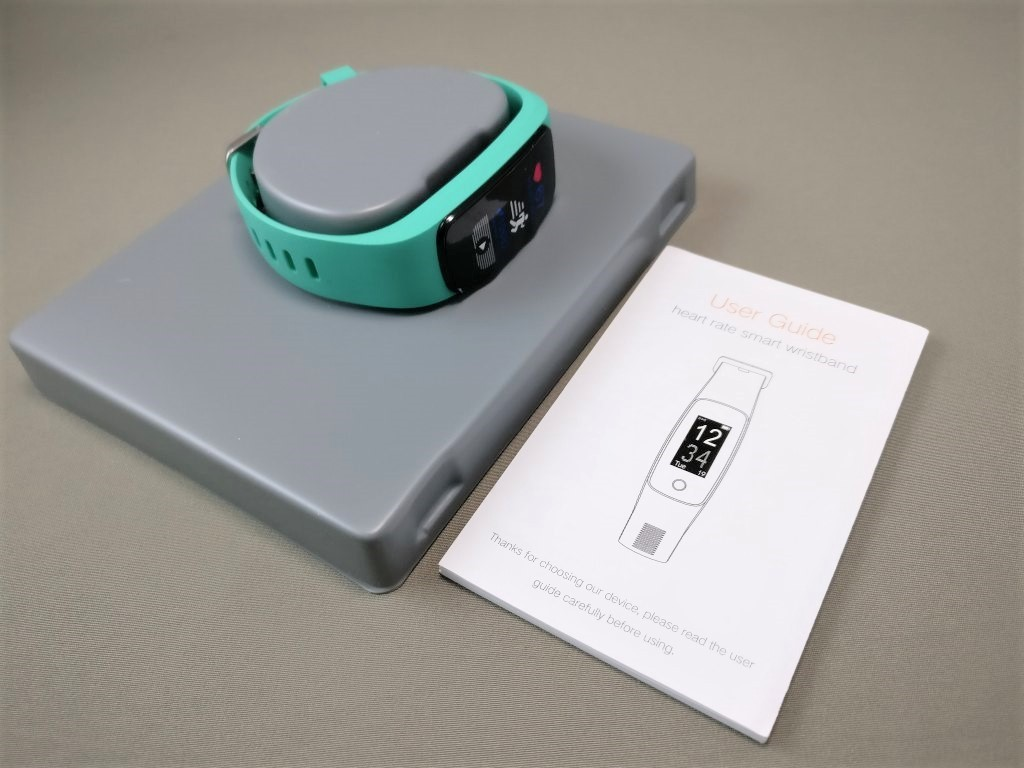 Makibes ID107 Plus Smart Bracelet 開封 バンド・取説
