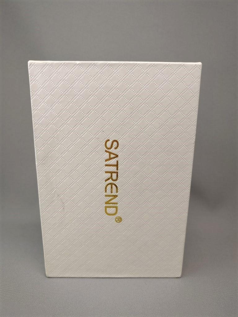 SATREND A10 GSM ミニカードフォン 化粧箱 表