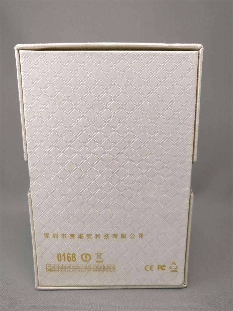 SATREND A10 GSM ミニカードフォン 化粧箱 裏