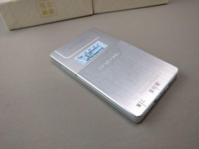 SATREND A10 GSM ミニカードフォン 裏