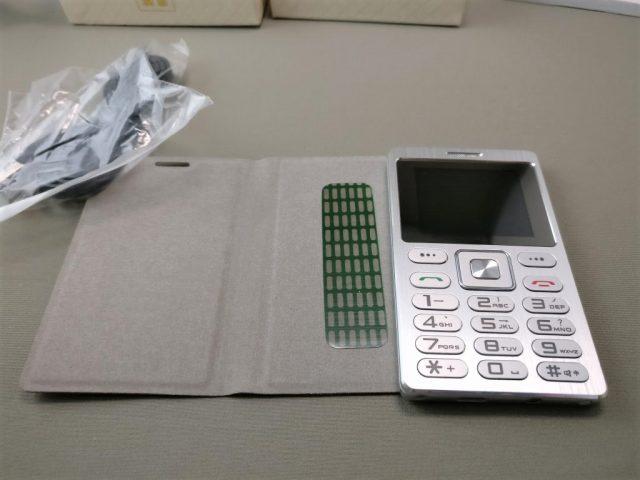 SATREND A10 GSM ミニカードフォン 付属品 保護ケース