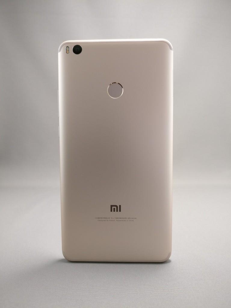 Xiaomi Mi Max 2 裏面 影3