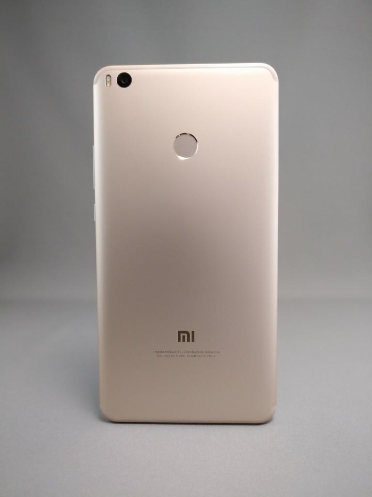 Xiaomi Mi Max 2 裏面 影2
