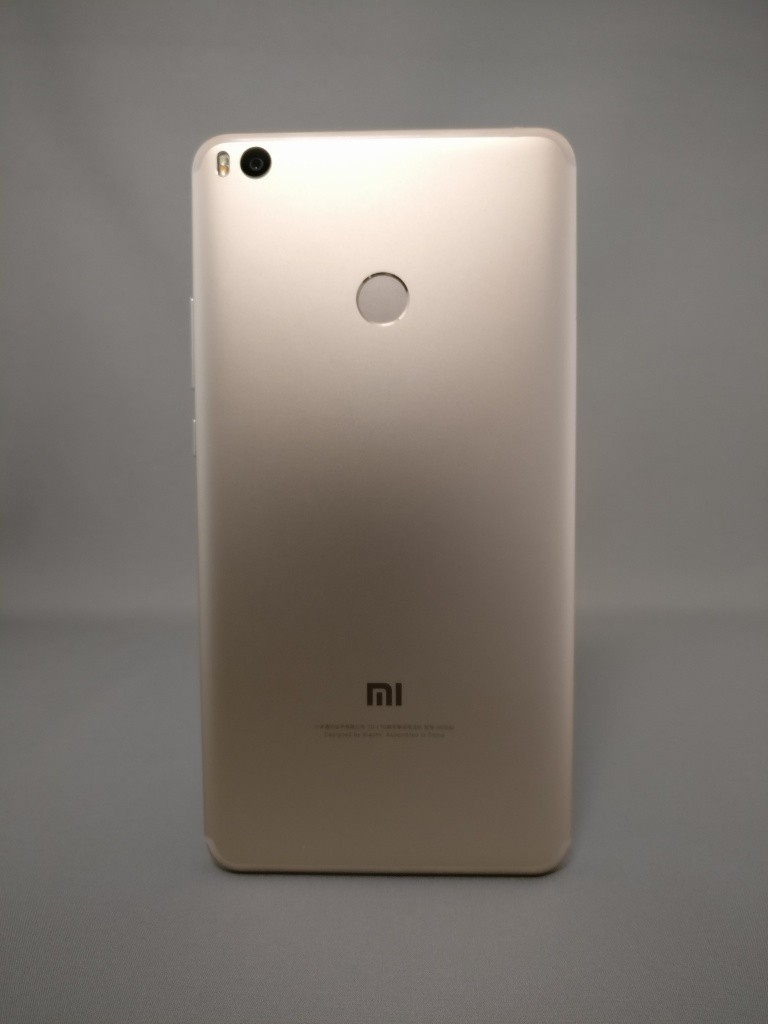Xiaomi Mi Max 2 裏面 影6