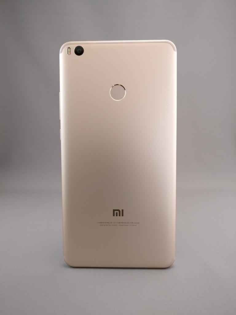 Xiaomi Mi Max 2 裏面 影9