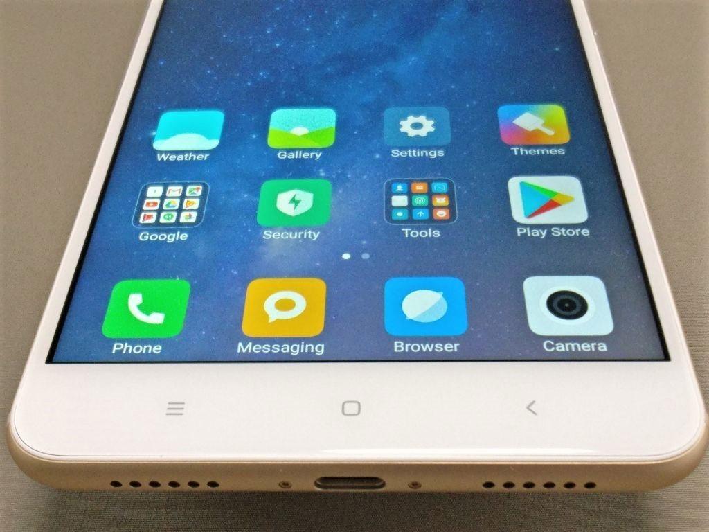 Xiaomi Mi Max 2  ベゼル