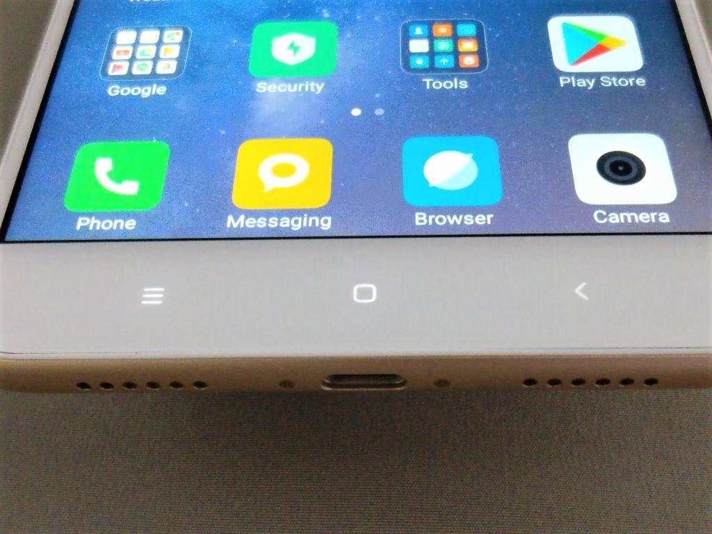 Xiaomi Mi Max 2 ホームボタンLED