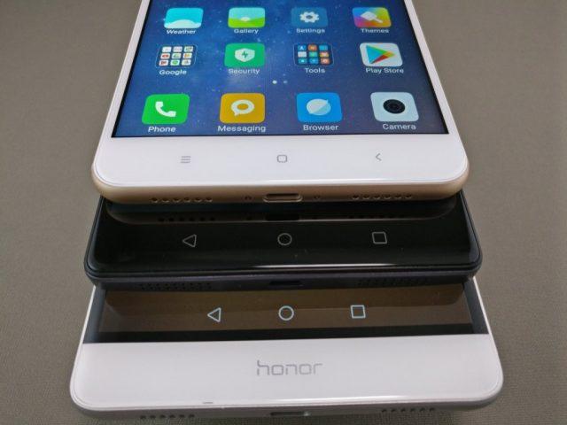 Xiaomi Mi Max 2  他スマホ比較 ホームボタン2
