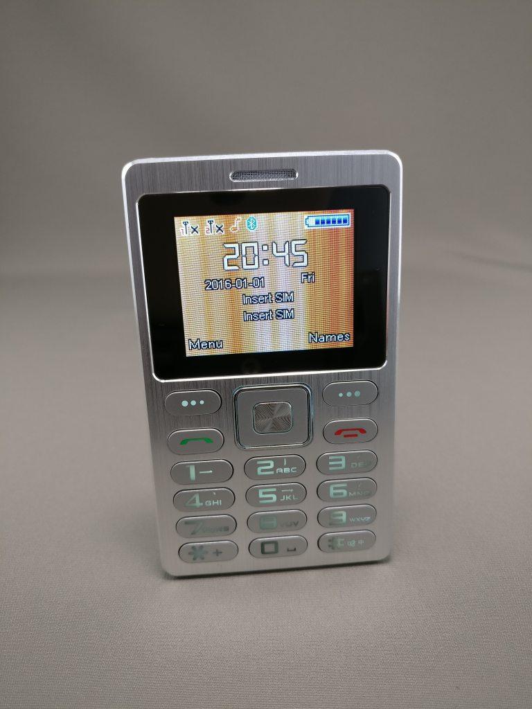 SATREND A10 GSM ミニカードフォン 表5